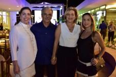 Ticiana Rolim, Pio Rodrigues, Stella Rolim e Isabela Barros