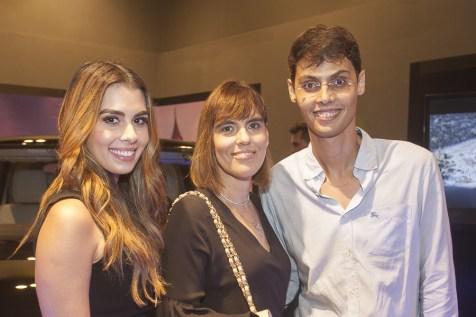 Camila Moreira, Fernanda Peixoto e Lucio Salazar