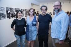 Elisabet Guaibara, Jacqueline Medeiros, Solon Ribeiro e Newton Whitehurst