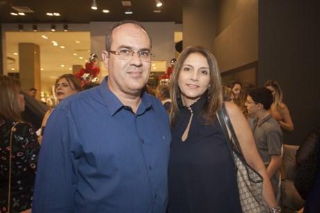 Marcelo Fradique e Raquel Aragão
