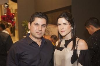 Pompeu Vasconcelos e Marilia Quintão