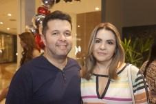 Sanzio e Karine Teixeira
