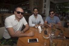 Roberio, Vitor e Guilherme