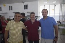 Alex Moura, Alexandre Leão e Adriano Nogueira