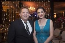 Delano Diniz e Luciana Carioca