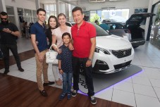 Eduardo Monteiro, Leticia, Angela, Davi e Franklin Rodrigues