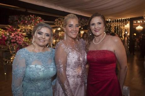 Idna Holanda, Vania Soares e Cristiane Gurgel_