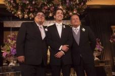 João Paulo, Angelo e Angelo Figueiredo