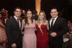 Nelson Mathias, Leiriane Viscard, Aline Matos e Hilton Aguiar
