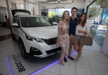 Priscilla Bonorandi, Eduardo Monteiro e Camille Bonorandi