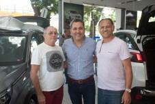 Valber Wiana, Aguimar Filho e Adriano Santiago