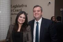 Carolina Gomes e Leonardo Vasconcelos