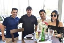 Erico Vasconcelos, George Lima, Pompeu e Marilia Vasconcelos