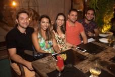 Felipe Filho, Sofia Nogueira, Ana Paula Maia, Fernando Maia e Davi Melo