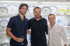 Henrique Brasil, Thiago Rodrigues e Humberto Cavalcante