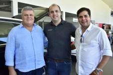 Jose Maria Mourao, Maciel Feitosa e Naldinho Sales