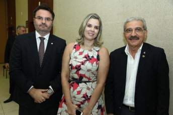 Leonardo Moura , Mariana Lobo e Walter Cavalcante