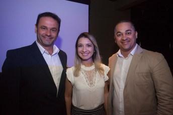 Luciano Andreoti, Jessica Alves e George Alencar