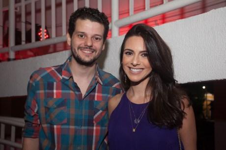 Luiz Esteves e Milena Holanda
