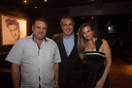 Patrolino Dias, Paulo Angelim e Veronica Picanço