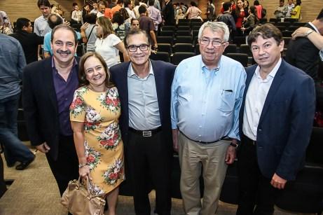 Paulo Andre Holanda ,Marcia Pinheiro , Beto Studart , Roberto Macedo e Edgar Gadelha