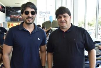 Rodrigo Porto e George Lima
