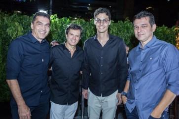 Idesio Rolim, Aderaldo Silva, Lucio Salazar e Claudio Moreira