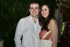 Aristide Pereira e Thais Fiuza