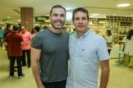Carlos Fiuza e Roger Pouchain