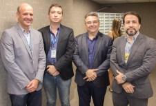 Danúbio Almino, Gledson Sousa, Valdemar Barros e Gomes dos Santos (2)