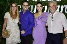 Daniela Holanda, André e Catarine Guanabara e Eugenio Pontes