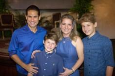 Davi Rodrigues, Davi Filho, Patriciana Queirós e Patrick Rodrigues