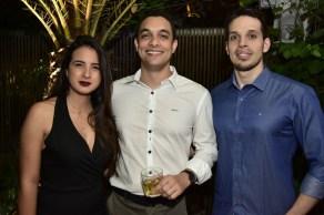 Gabriela Dias, Victor Sousa e Marcio Landim