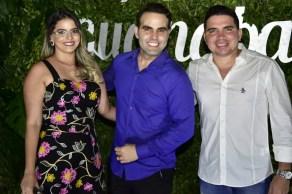 Gabriela Santos, André Guanabra e Thiago Ramalho