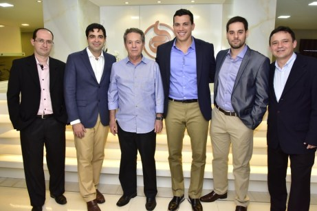 Gustavo Benevides, Ibraim Cavalcante, Claudio Rocha, Helmut Poti, Adriano Vasconcelos e Wilson Parente