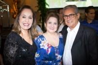 Inês Rodrigues, Auricélia Queirós e Fernando Rodriges