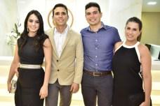Larissa Bivar, Marcelo Falcão, Elano e Janaina Coltinho