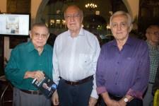 Marcos Monte, Lúcio Alcântara e Leopoldo Aubuquerque