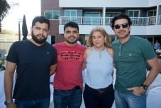 Meudo Claro, Patric Costa, Maria Mapurunga e Romulo Santos
