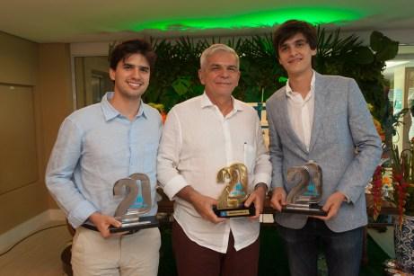 Pedro Fernandes, Luiz Henrique Coelho e Thiago Fernandes