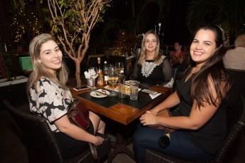 Rafaela Cavalcante, Aline Tavares e Raquel Aragão