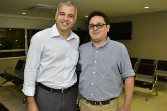 Ricardo Simões e Leopoldo Albuquerque