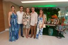 Thais, Gama Filho, Valeria, Jose Carlos e Bia Gama
