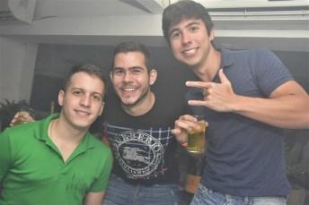 André Rabelo, Matheus Neves e Victor Ribeiro