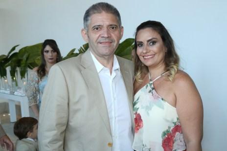 Andre Rocha e Rosiane Pimentel