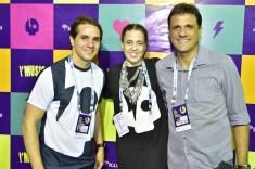 Benjamim Oliveira, Rachel Mendonça e Wellington Soares
