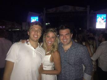 Danilo Filho, Patricia e Danilo Dias