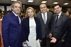 Ernesto Saboya, Iracema do Vale, Helio Parente e Mauro Benevides Filho