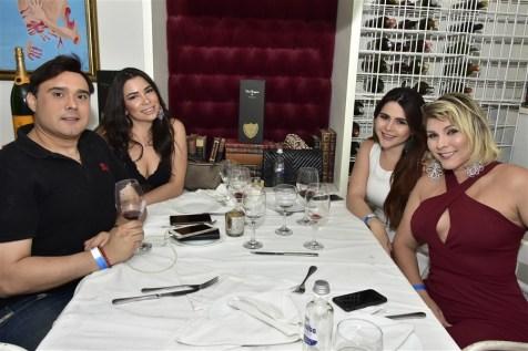 Julio Macedo, Stefane Campelo, Patricia Albuquerque e Janice Brandão