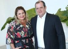 Karina Bezerra e Adriano Assunção
